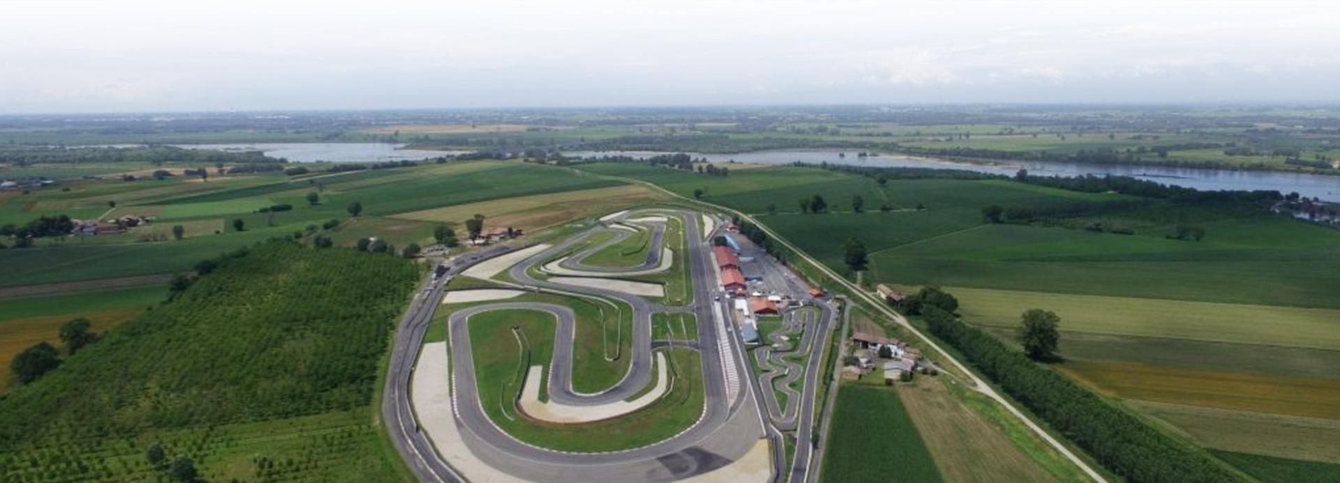 Impianti per Corsi di Guida Sicura - Circuito Autodromo Tazio Nuvolari Cervesina, Pavia
